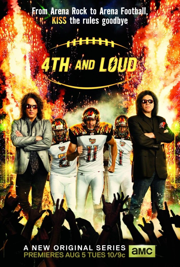 4TH and LOUD (With images) Arena rock, Series premiere