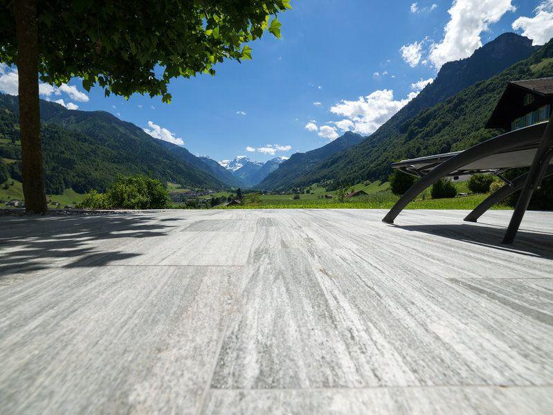 Modern Chic Terrassenplatten Granitplatten Terrasse