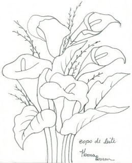 Risco Para Jarros Pesquisa Google Embroidery Art Fabric Painting Floral Art