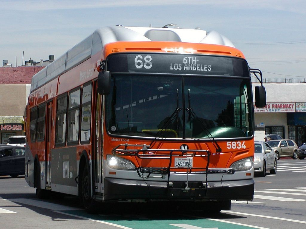 LACMTA Metro Local NFI-XN40-LFW CNG Cleaned Compressed