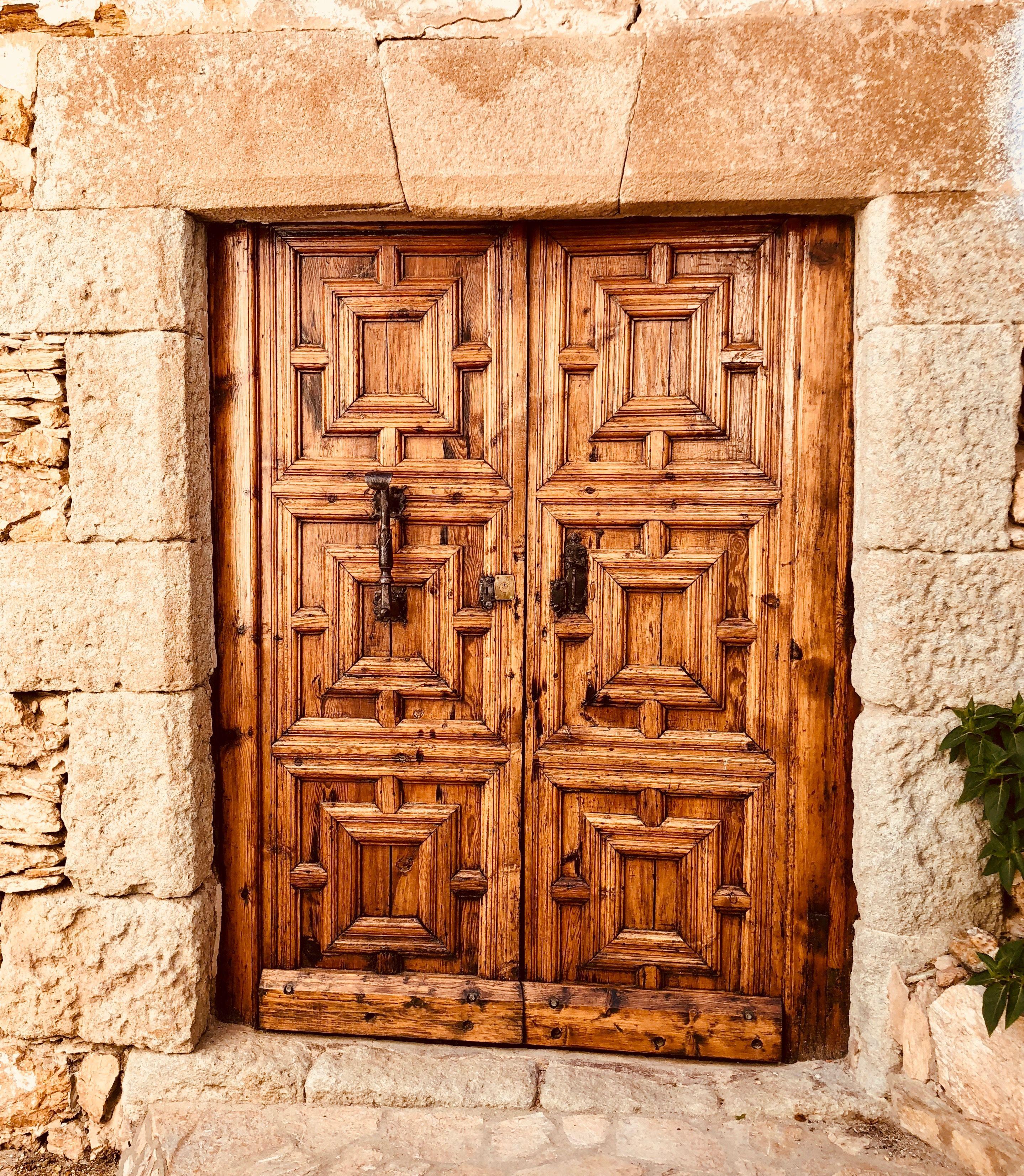 Begur Girona Puertas Antiguas Puertas Ventanas Fachadas