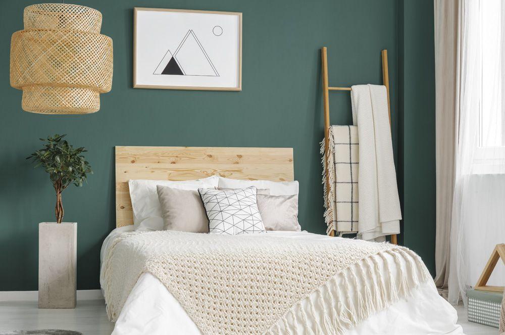Die richtigen Farben fürs Schlafzimmer Schlafzimmer wand