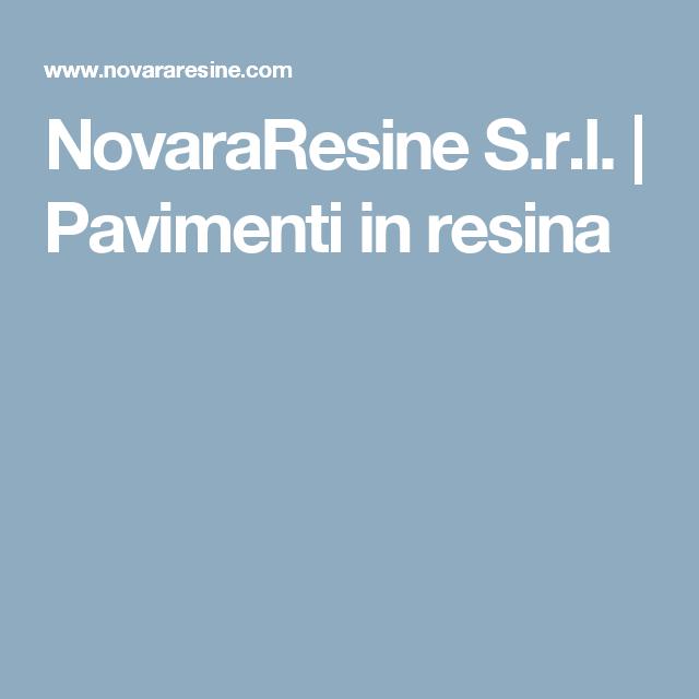 NovaraResine S.r.l. | Pavimenti in resina