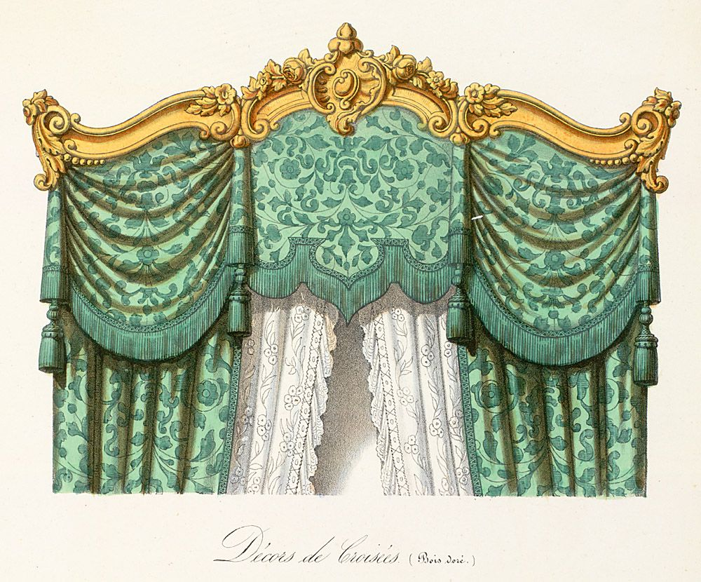 Pin By Jamie Lynn Avila On E Rococo Curtains Victorian