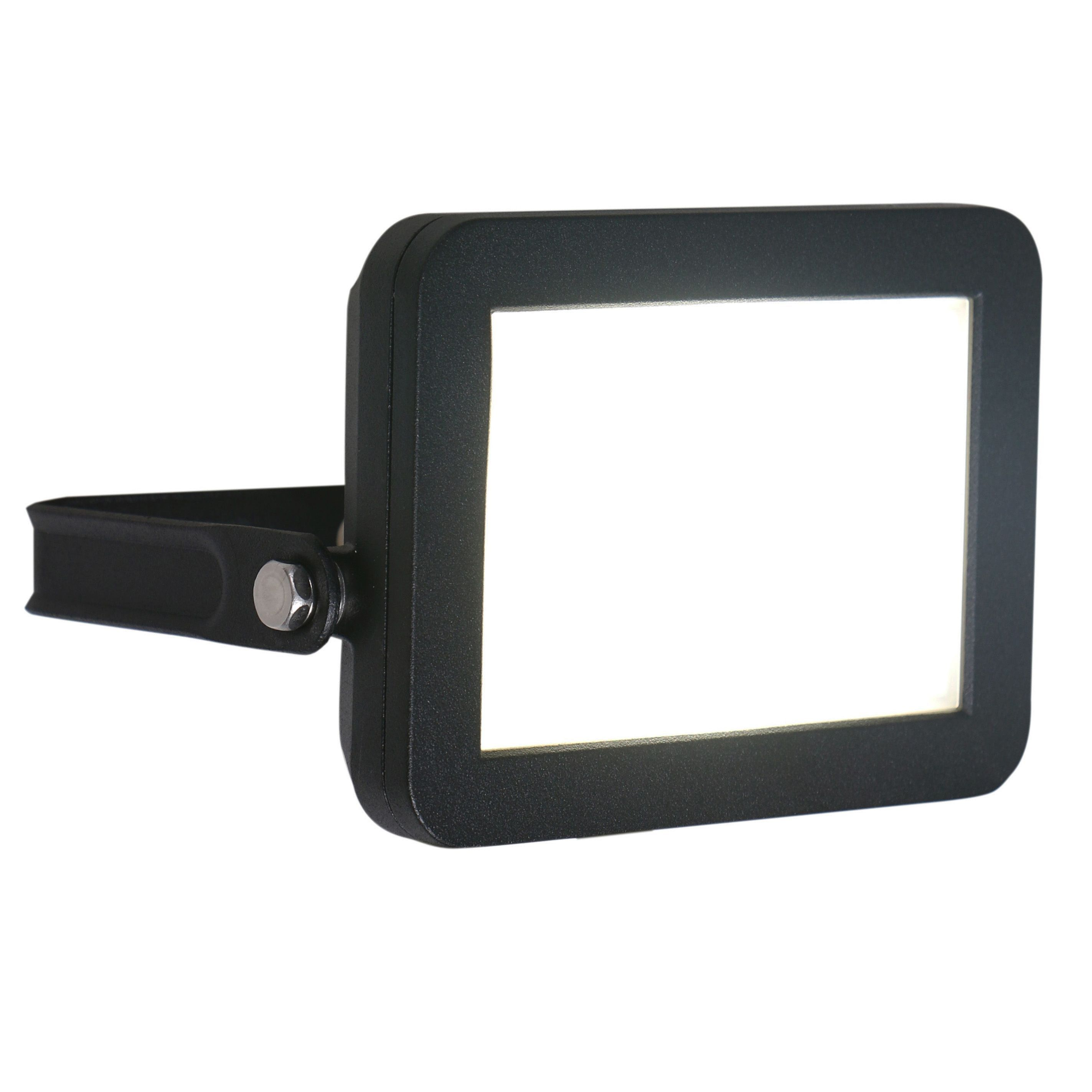 Blooma telamon black 115w mains powered external security flood blooma telamon matt black 115w mains powered external flood light departments diy at aloadofball Gallery