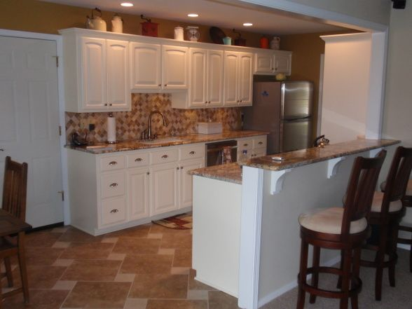 Best 25 galley kitchen remodel ideas on pinterest for Converting galley kitchen to open kitchen
