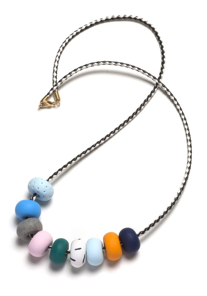 This necklace is part of the Memphis Terrazzo range and was ...