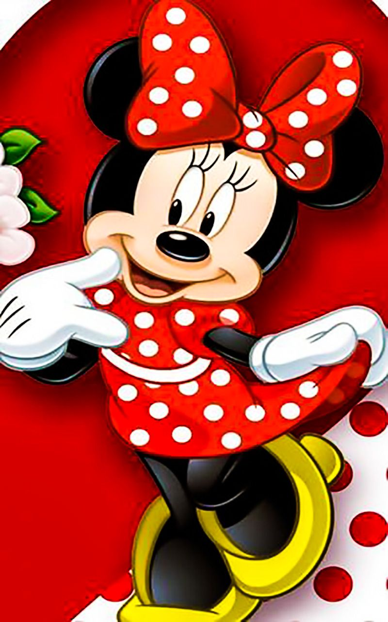 Minnie Mouse HD Wallpaper For Android Silhouette mickey