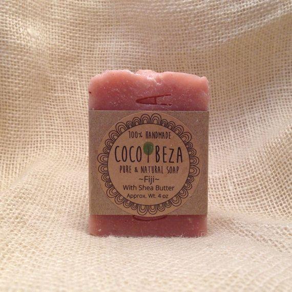 Shea Butter, Organic Coconut Oil, Soap