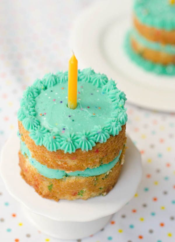 Mini Funfetti Birthday Cakes Cute Idea The Cake Merchant 00k