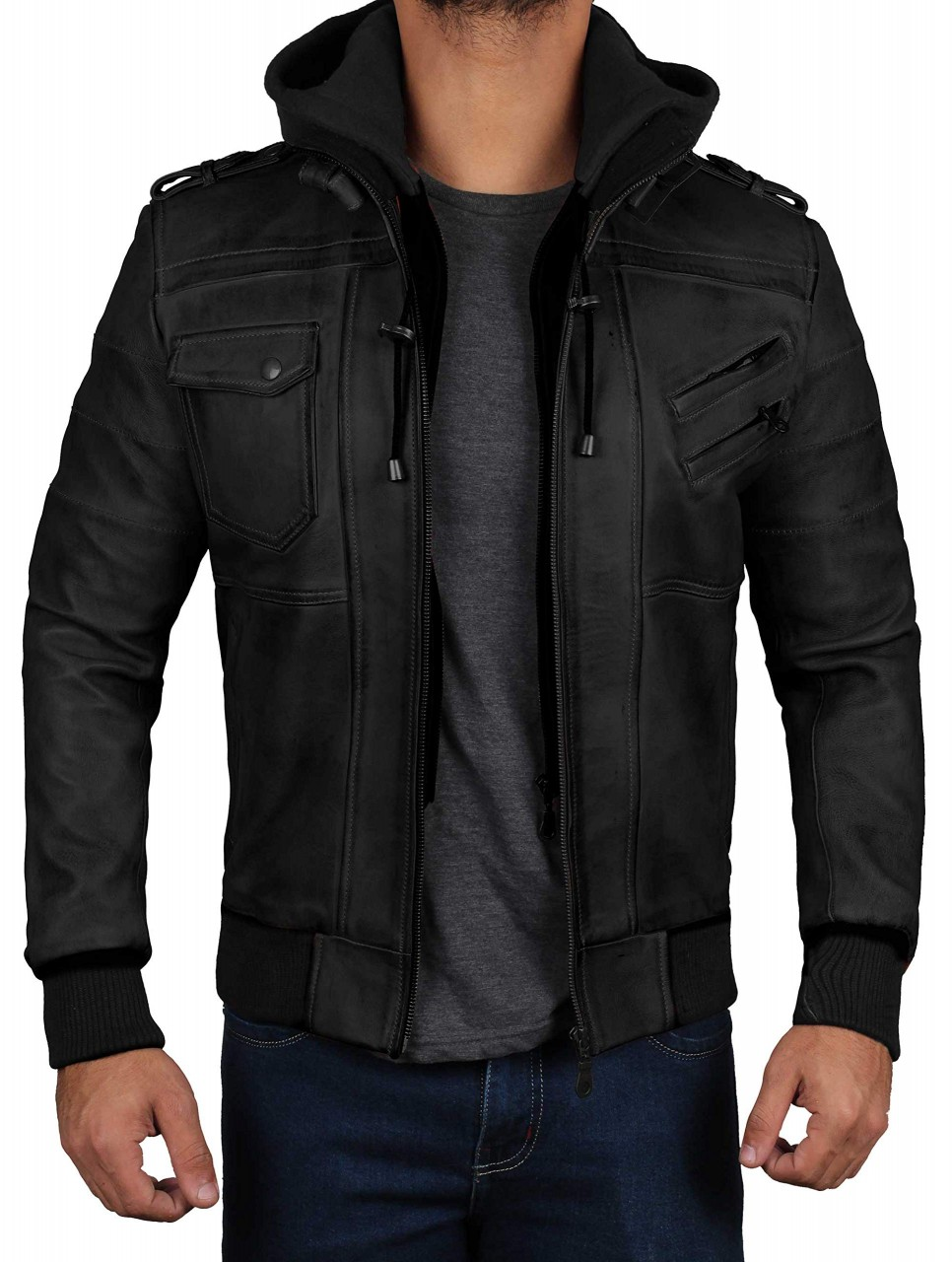 Leather Jacket With Hood Right Jackets Leather Jacket Leather Jacket With Hood Brown Leather Motorcycle Jacket [ 1280 x 966 Pixel ]