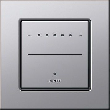 Touch Light Dimmer Switch With Led Indicator Gira Light Dimmer Switch Touch Light Switch Light Switches And Sockets
