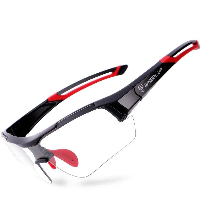 Outdoor Sports Photochromic Cycling Bike Sunglasses Anti-UV Eyewear MTB Glasses
