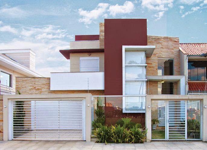 30 Fachadas de casas com pedras veja diferentes tipos e tendncias