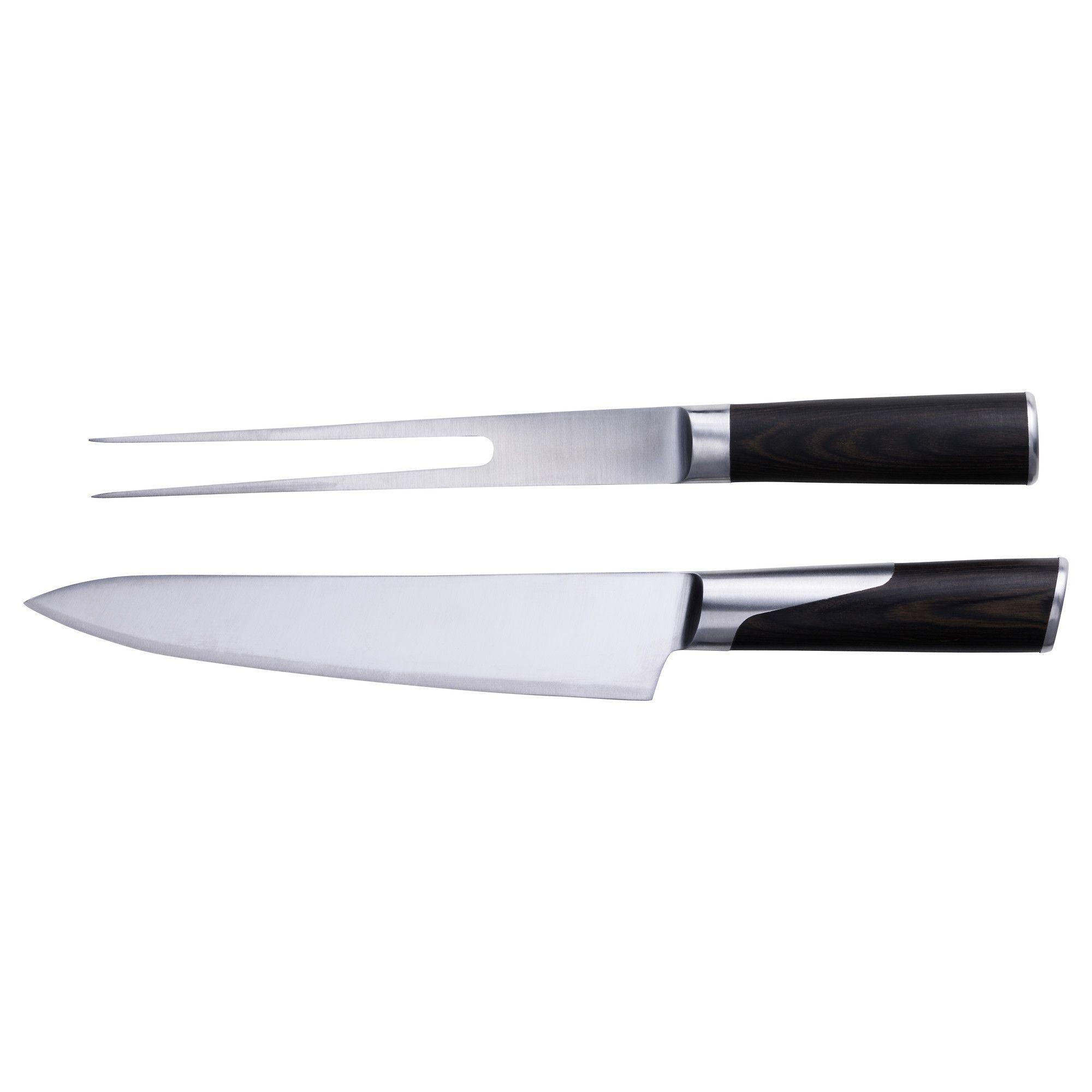 SLITBAR Carving Knife And Fork - IKEA