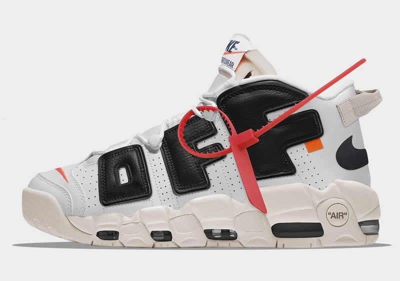 "half off f7026 840b6 Off White x Nike Air More Uptempo ""The Twelve"" White Black"