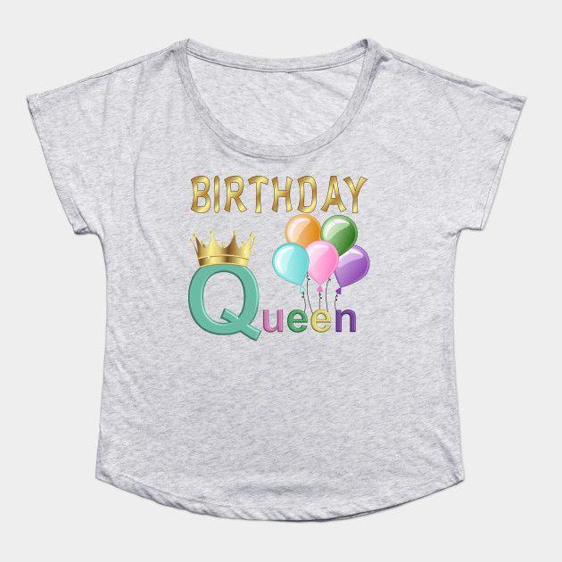 #birthday #birthdays #birthdayqueen #tshirt #tshirtdesign #balloons #golden