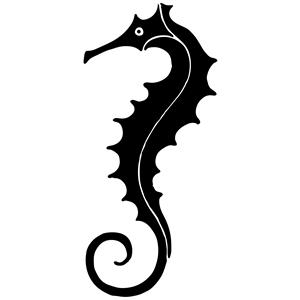 Seahorsesilhouette Png 300 300 Pixels Silhouette Art Silhouette Clip Art Seahorse Art