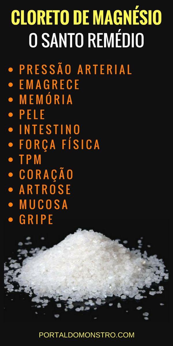 Cloreto De Magnesio Pa Emagrece Beneficios Preco E Onde Comprar