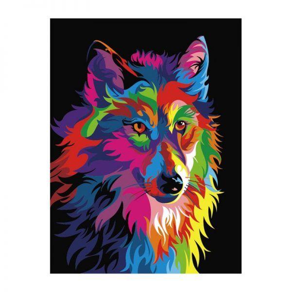 Животные поп арт (28 картинок) | Краска, Живопись с ...