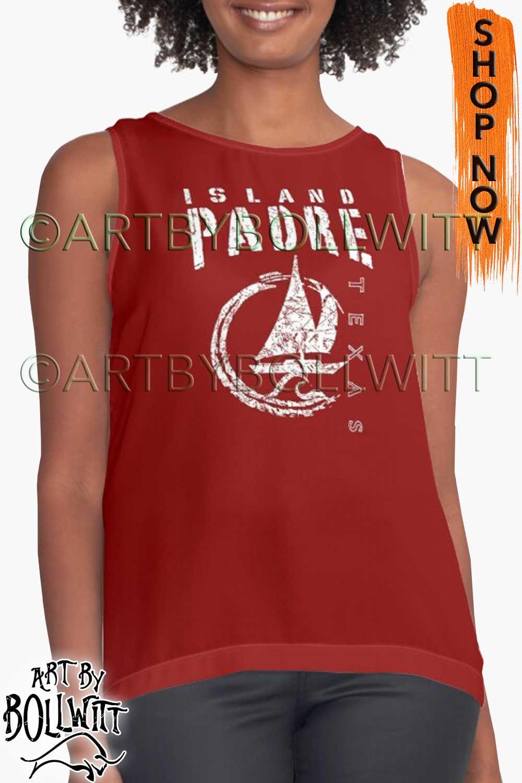 'Padre Island Texas Sailboat Sailing Yacht Nautical Wave