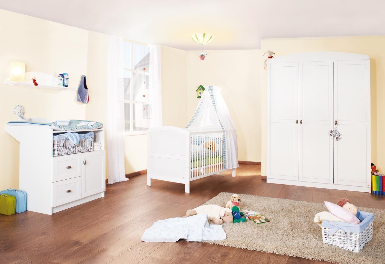 Kinderzimmer Laura groß von Pinolino Babyzimmer