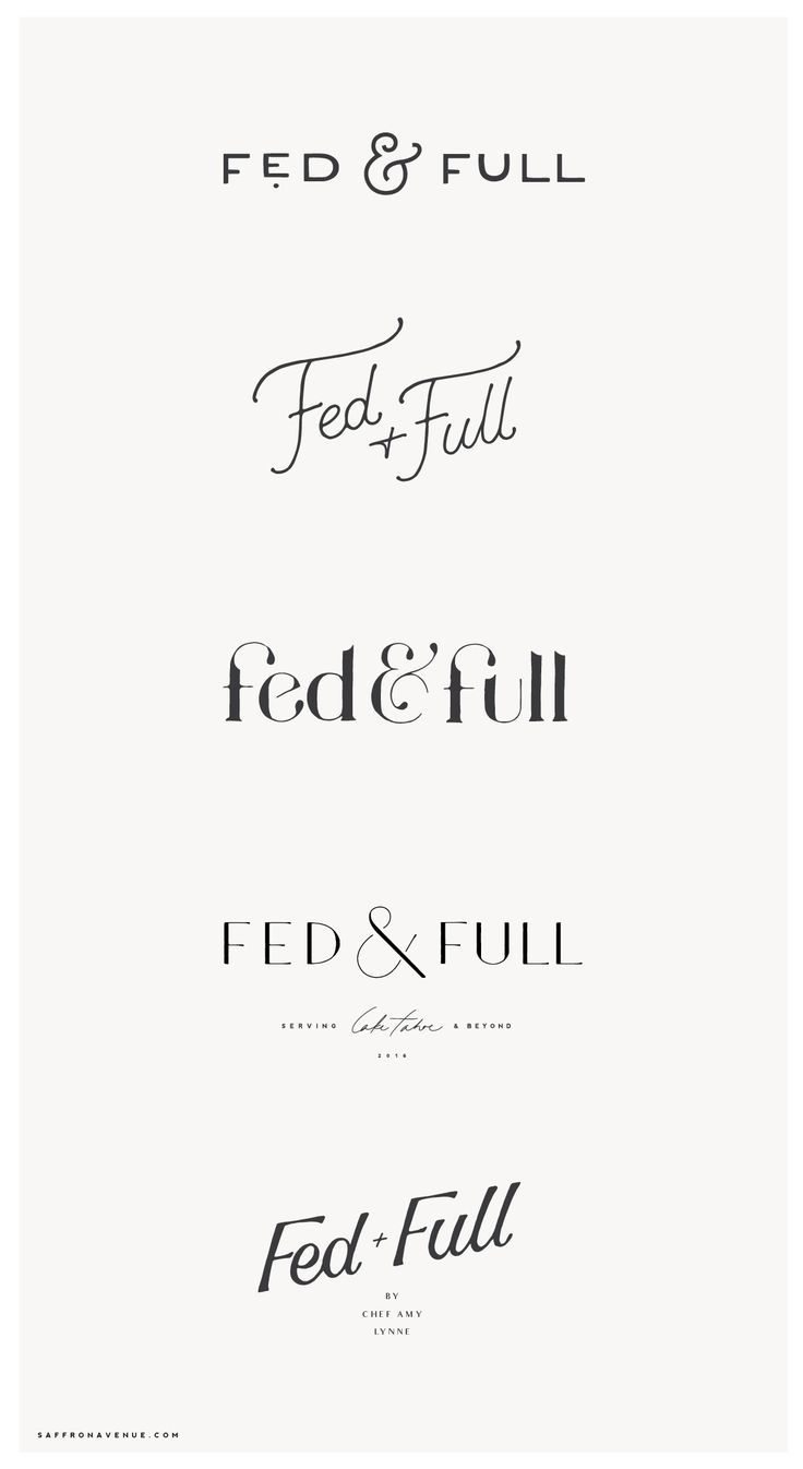 A Creative Brand and Website Launch for Fed & Full! - Saffron Avenue