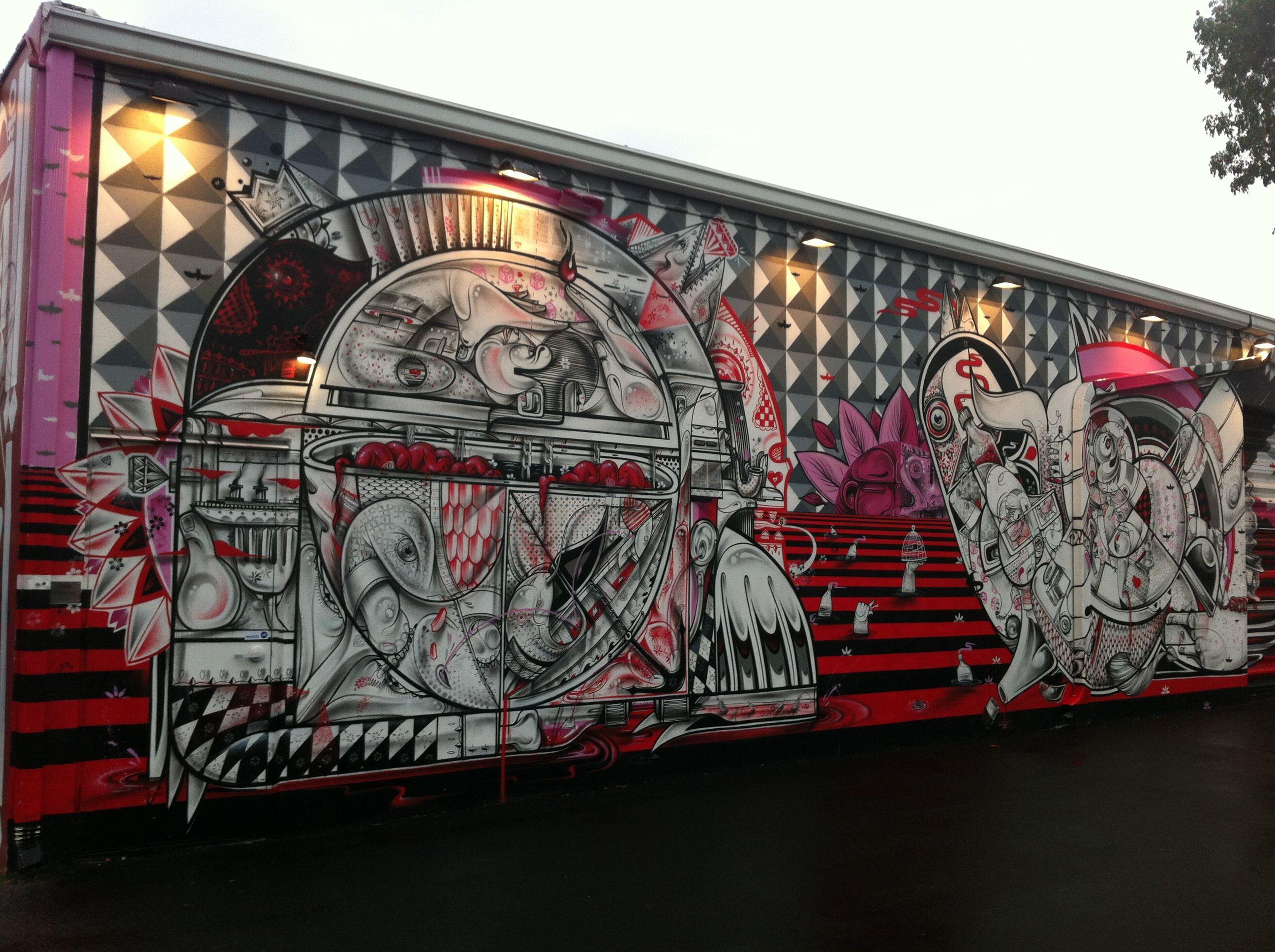 Wynwood Walls Miami, FL. #design #mural #wynwood #miami #street #art ...