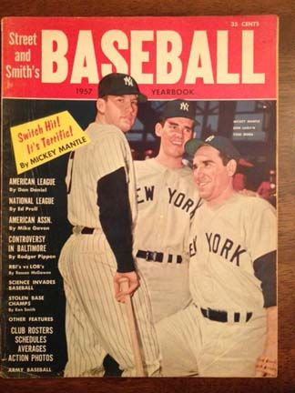 Street Smith S Magazines Still Hold Appeal For Baseball Fans Baseball Mickey Mantle Sports Magazine