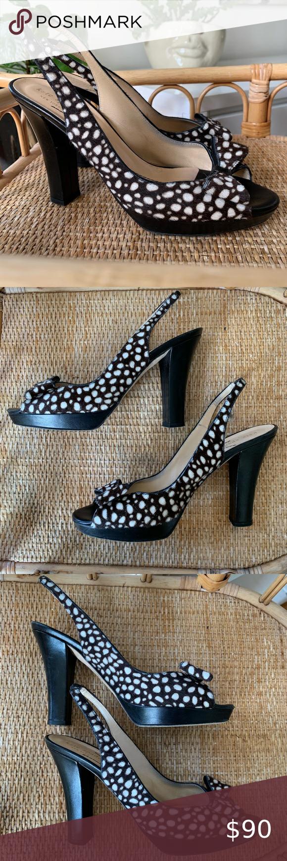 Kate Spade Giselle Slingback Peep Toe