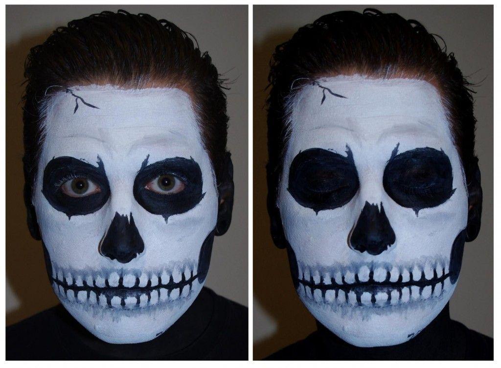 Skeleton Face Paint Men Skeleton Makeup Kids Face Painting Halloween Halloween Skeleton Makeup