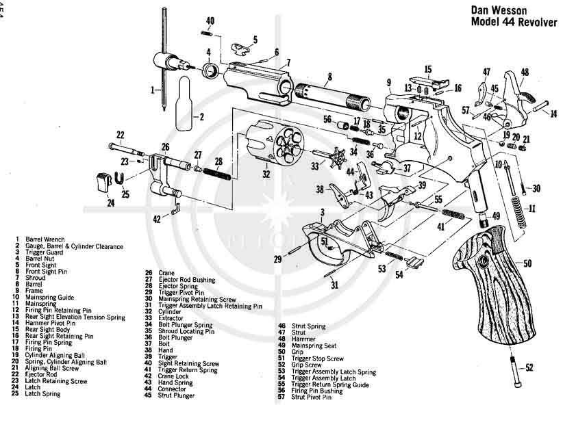 Rev 243 Lver Dan Wesson 38 Especial 4 Pulgadas Weapons