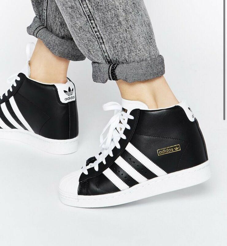 adidas superstar high top ebay