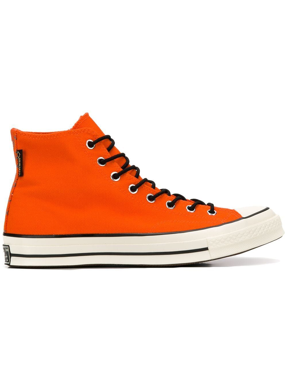 4d969fd35e3f CONVERSE CONVERSE ALL STAR 70 GORETEX HI-TOPS - ORANGE.  converse  shoes