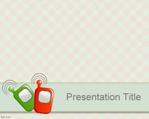 baby call powerpoint template is a free ppt template background, Modern powerpoint