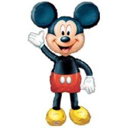 Mickey Mouse Airwalker 52 Jumbo Foil Balloon (00026635083188) Mickey Mouse Airwalker Jumbo Foil Balloon measures 52 high. This is an officially licensed Disney product.