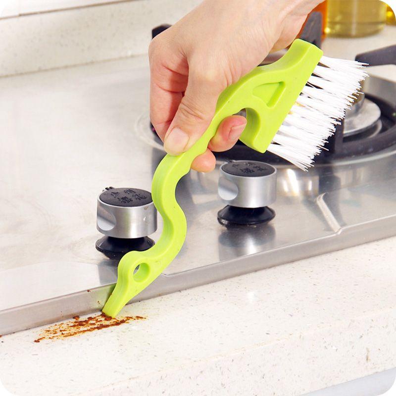 Honana CF-CT20 Herramientas Manuales de la Limpieza de Brecha de Ranura Cepillos de Limpieza de Cocina del Surco de Ventana de Puerto
