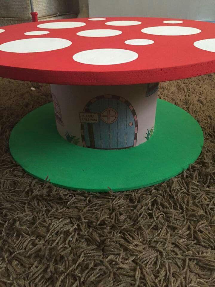 Mushroom Cable drum