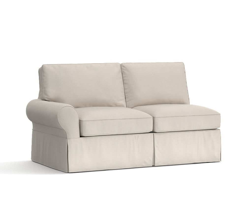 Pb Basic Right Arm Love Seat Slipcover Sectional