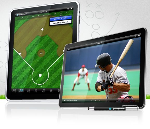 Image Of Digital Playbook Ipad App Playing Field Tablet For Sports Teams Baseball And Mlb Sports Sports Team App Play