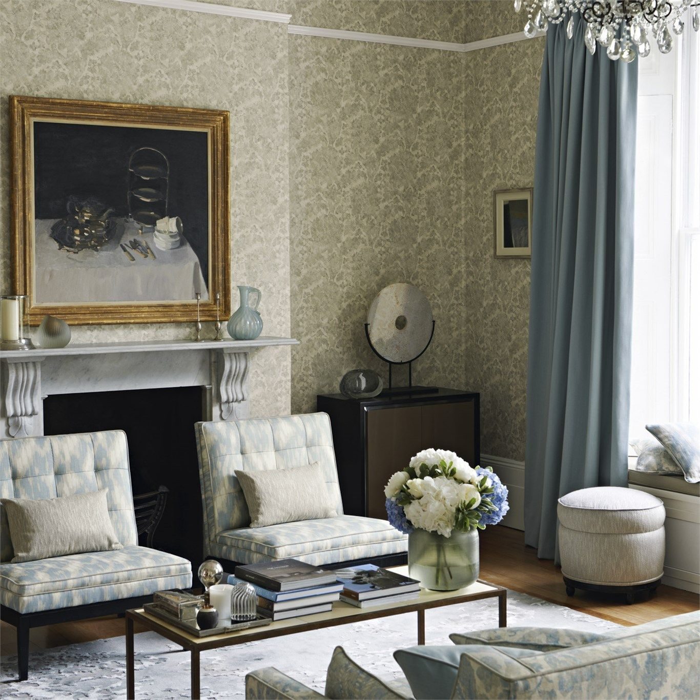Zoffany - Luxury Fabric and Wallpaper Design   Products   British/UK Fabric and Wallpapers   Carrera (ZTOW310863)   Town & Country Wallpapers