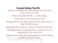 Scorpio trust test