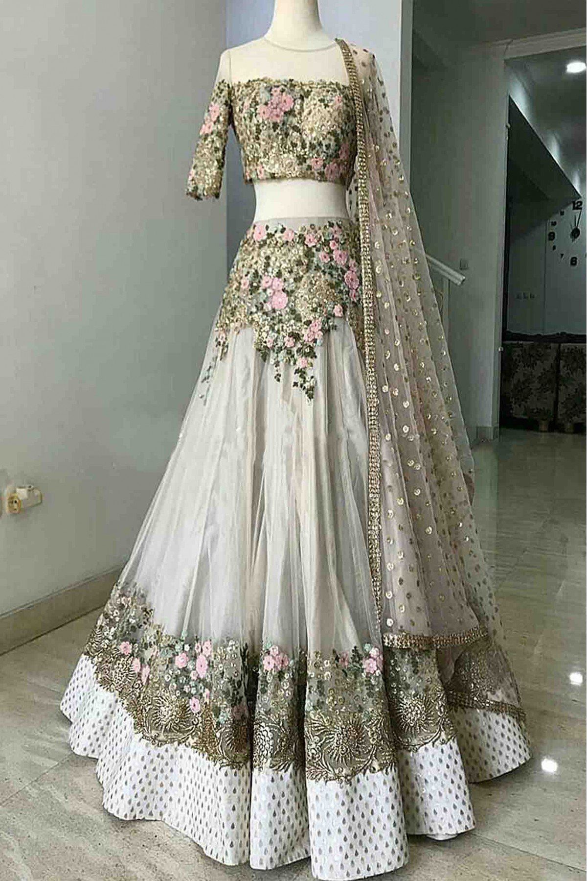 Pin Di Bridal Saree,Wear Lehenga Choli Party Wear Wedding Dresses For Girls
