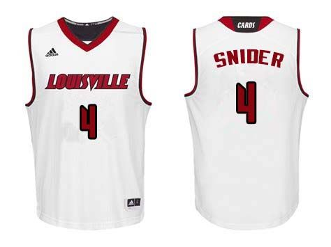 b19acc32a Men  4 Quentin Snider Lousiville Cardinals College Basketball Jerseys  Sale-White