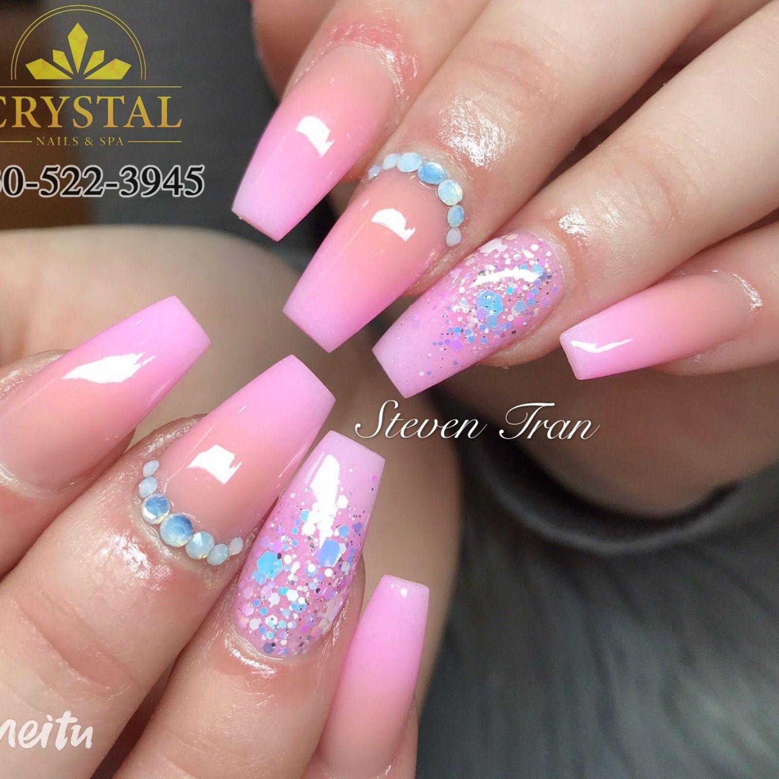 Crystal Nails Spa Nails Salon In Willowbrook Illinois 60527 Nail Salon And Spa Crystal Nails Manicure