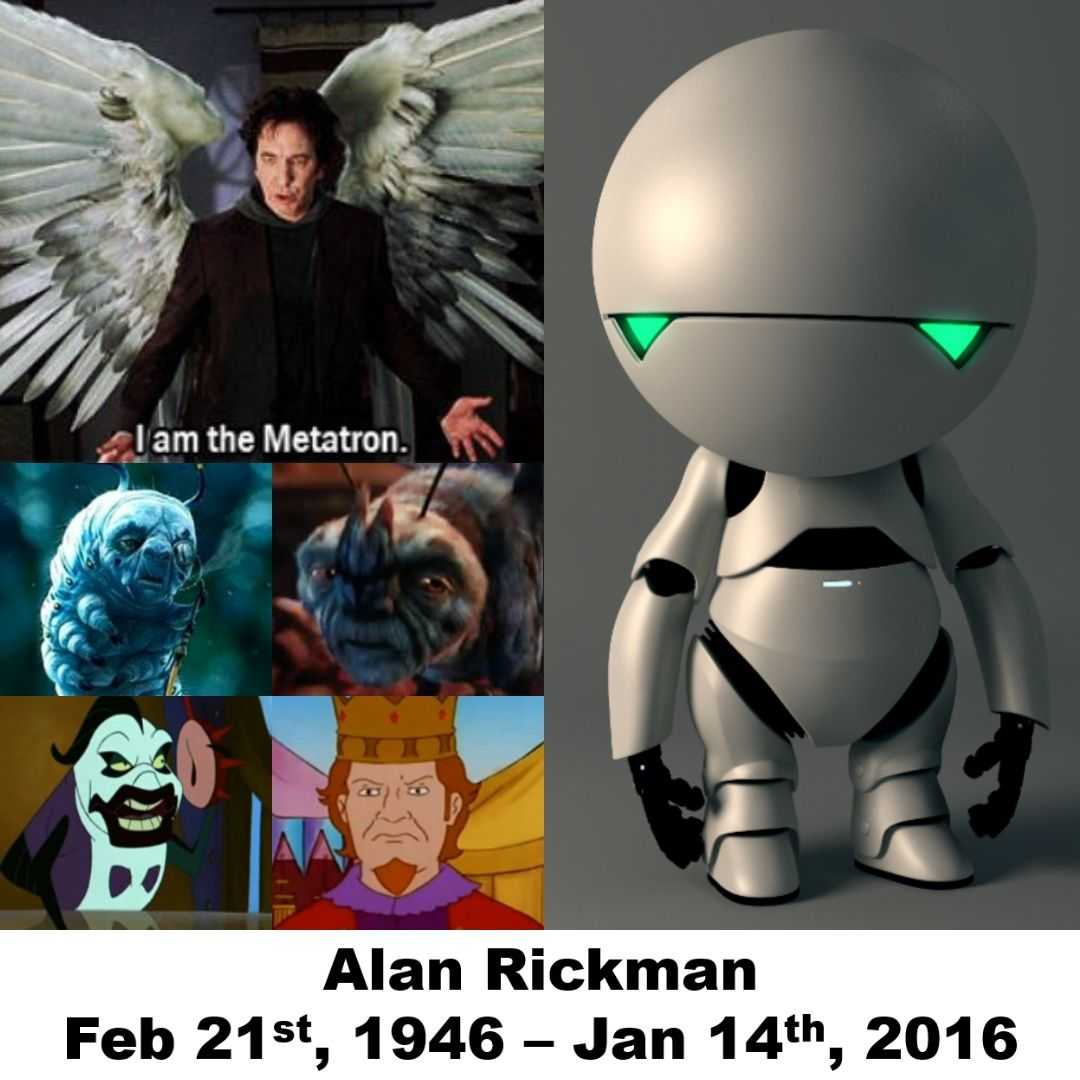 Alan Rickman Revised I Can T Believe It S Been 3 Years Since The