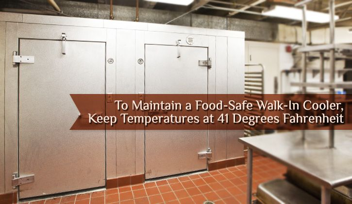 Keep Your Walk In Cooler Clean And Organized Safe Food Cooler Kitchen Equipment