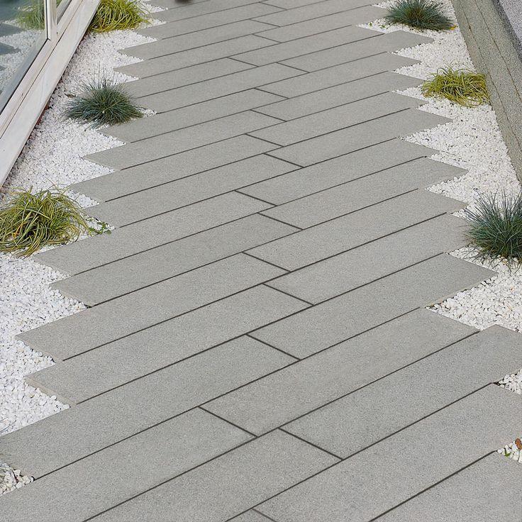Staggered Granite Steps Google Search Contemporary Garden Design Modern Landscaping Landscape Design