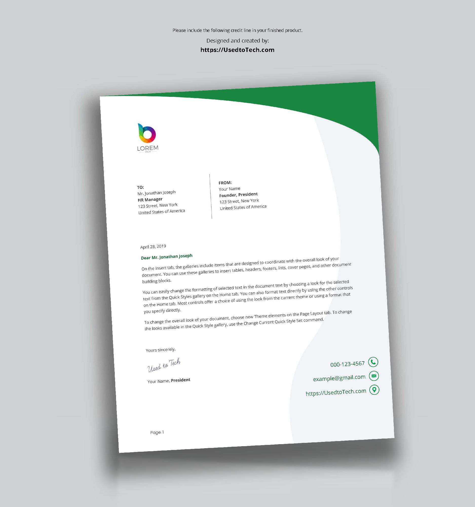 perfect letterhead design in word free used to tech for key qualifications resume ambulatory surgery nurse academic cv sample