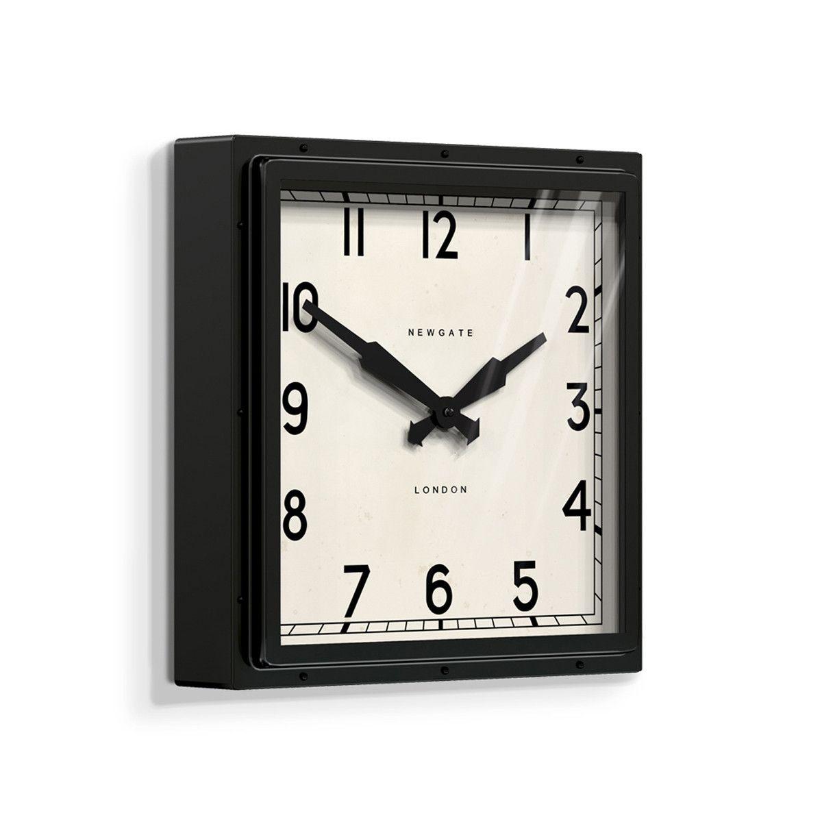 The Quad Wall Clocks Newgate World Clock Behind